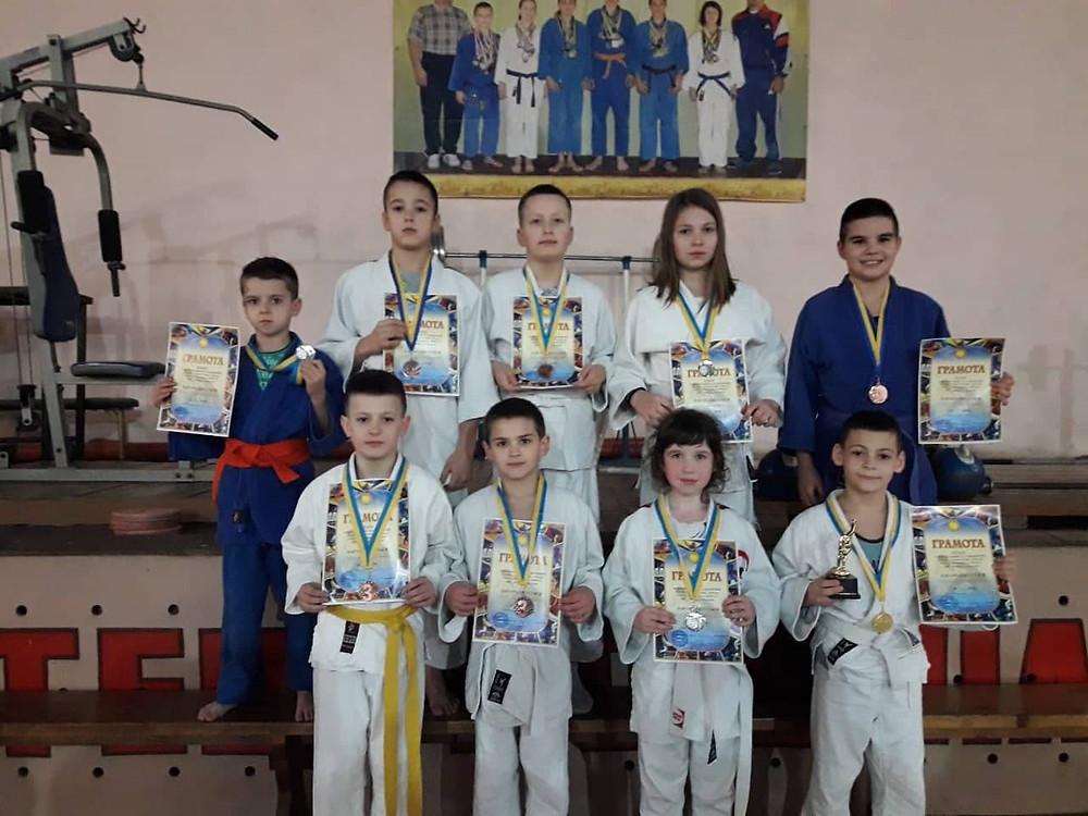 Новосельчани - призери міжнародного турніру з дзюдо