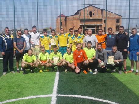 Команда Рокитного - переможець спартакіади району з міні-футболу