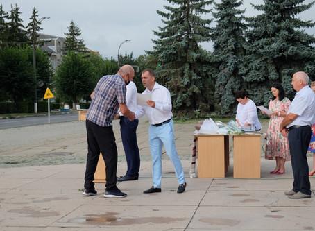 Сьогодні у Новоселиці урочисто відзначили 29-у річницю Незалежності України