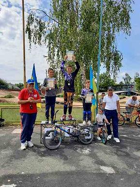 Чемпіонат області з велоспорту ВМХ: результати