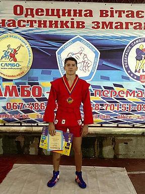 Едуард Штефанеса – призер чемпіонату України з самбо