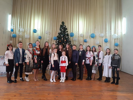 Учні читали Міхая Емінеску