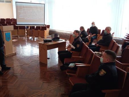 Керівництво управління ДСНС обговорили нагальні питання з представниками громад Новоселиччини