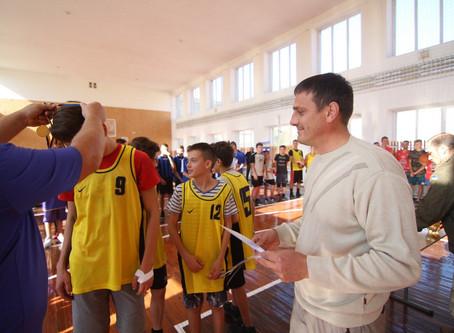 Турнір з баскетболу до Дня захисника України