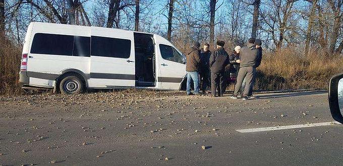 """Автобус """"Чернівці-Новоселиця"""" потрапив у ДТП"""