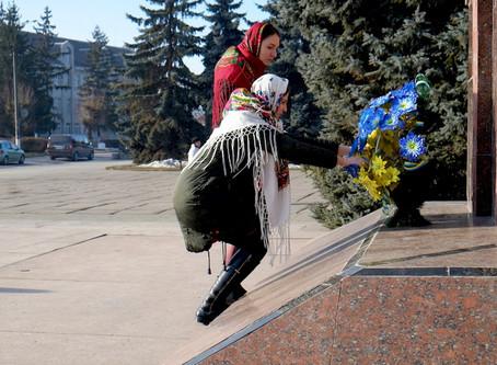 День Соборності України у Новоселиці