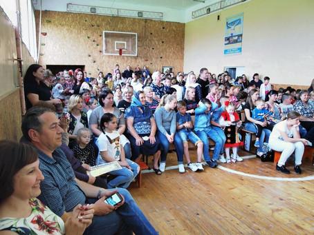 Звітувала шкільна родина Маршинців