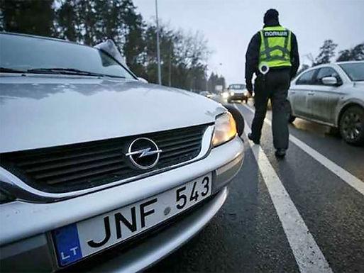 Патрульна поліція буде штрафувати власників нерозмитнених авто на 8 500 грн.