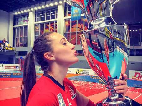 Котелевчанка - володарка Кубку України з волейболу