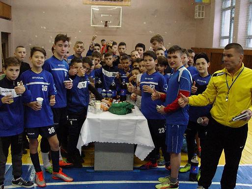 Новорічно-різдвяний турнір юних футболістів