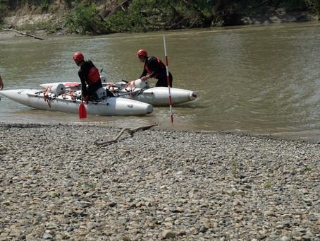 Відбулись ювілейні змагання з порятунку на воді.