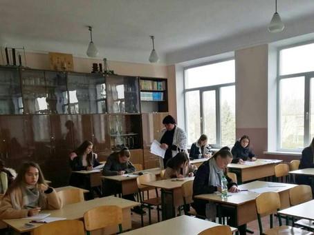Відбулися олімпіади з астрономії та української мови.