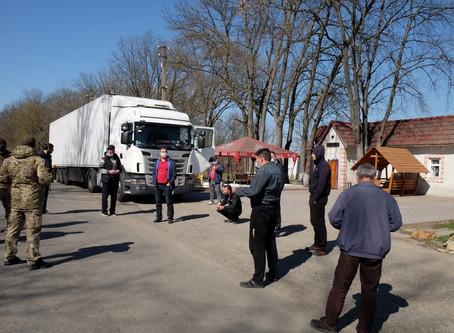 На кордоні з Молдовою збираються вантажівки, які вже не можуть виїхати з України