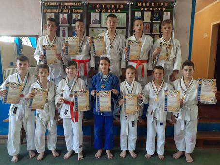Новоселицькі дзюдоїсти здобули 14 медалей на турнірі у Чернівцях