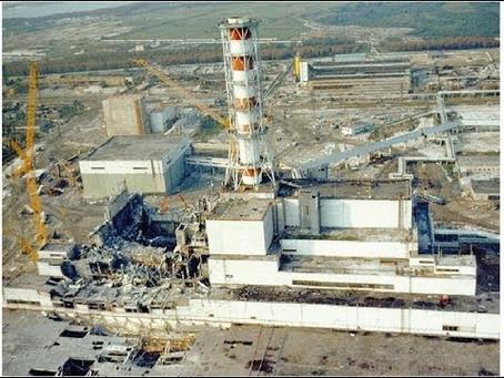Сьогодні - 34 річниця Чорнобильської катастрофи