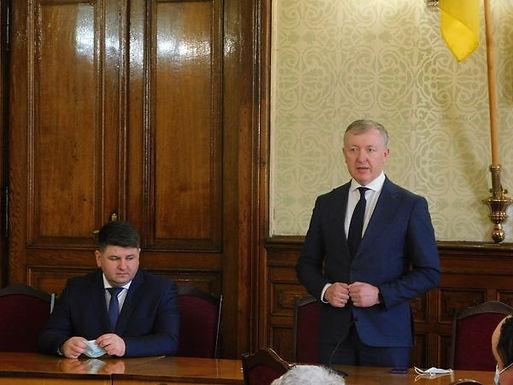 Офіційно представили голову Чернівецької РДА