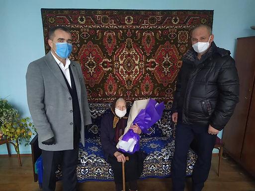 Жителька Костичан відзначила 100-річний ювілей