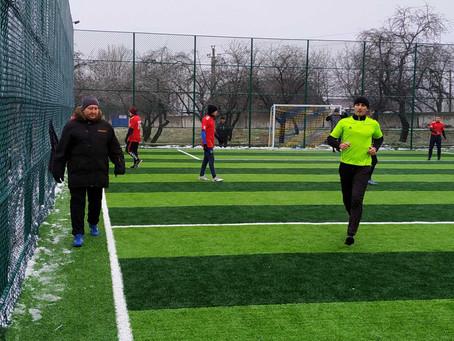 Стартував відкритий зимовий турнір з міні-футболу