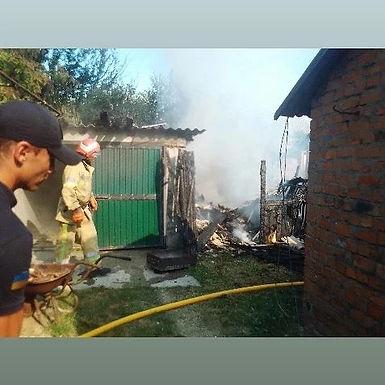 Стали відомі причини пожежі на Пирогова: спалювання сміття