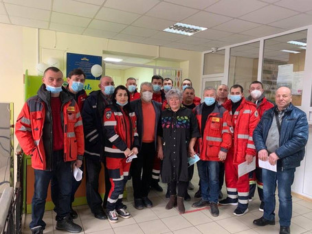 Розпочалась вакцінація медиків на Новоселиччині
