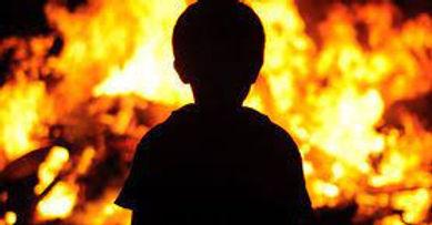 Причиною виникнення пожеж, на яких гинуть діти, є дитячі пустощі з вогнем