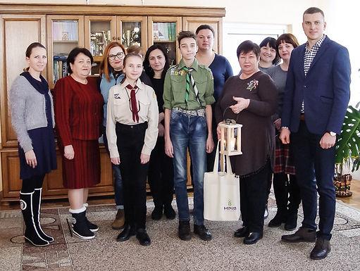 У Новоселицю привезли Віфлеємський Вогонь Миру