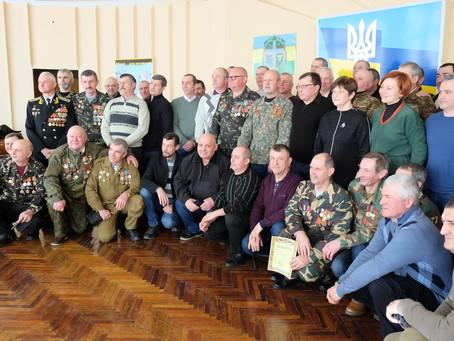Вшанували учасників бойових дій