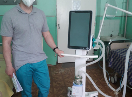 Новоселицька райлікарня отримала другий апарат штучної вентиляції легенів