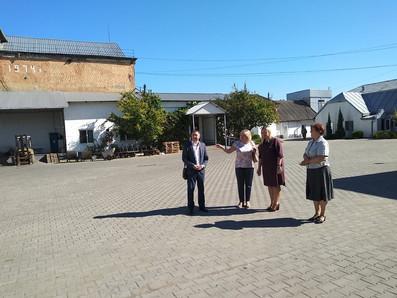 Кервіник обласного центру зайнятості зустрілась з керівництвом ДП «М'ясо Буковини»