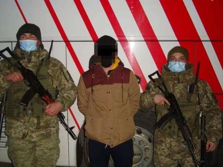 """На КПП """"Мамалига"""" затримали чоловіка, якого розшукував Інтерпол"""