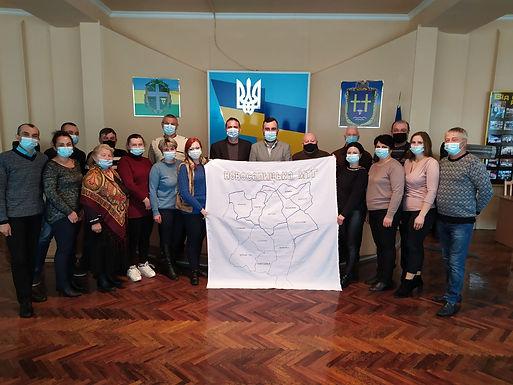 У Новоселицькій МТГ виш'ють карту громади