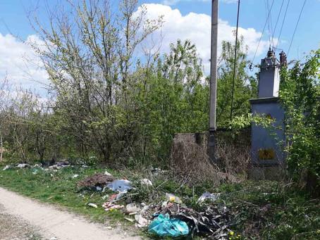 У перший День травня волонтери прибирали місто