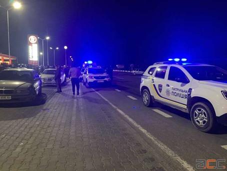 У Магалі мотоцикліст збив людину