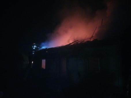 У Зеленому Гаї під час пожежі травмувався чоловік