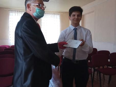 У Новоселицькій музичній школі привітали випускників