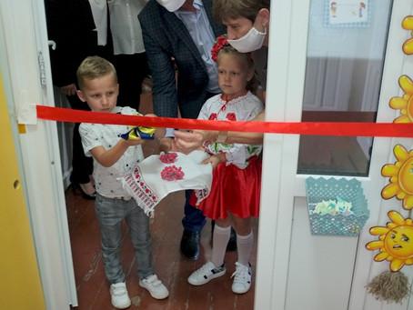 У Маршинецькому НВК відкрили додаткову старшу группу для дітей дошкільного віку