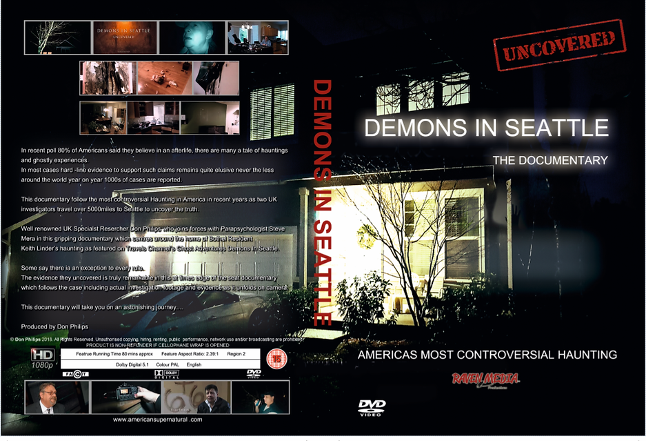 Demons In Seattle Uncovered DVD cover