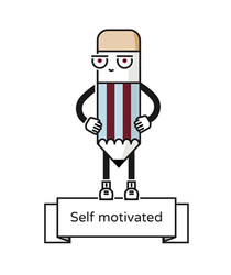 SELF MOTIVATED  I can do it!