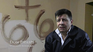 UK eading paranormal resercher Don Philips