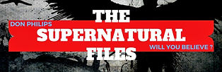 poster for youtube channel The Supernatural Files