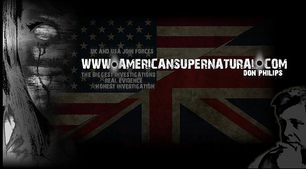 American Supernatural.com poster