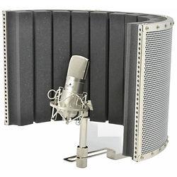 A portable vocal booth