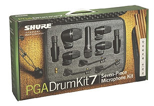 The SHURE PGA Drum Kit 7 Microphone Pack