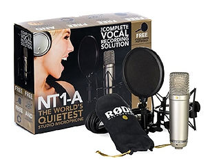 The RODE NT1-A Microphone Pack