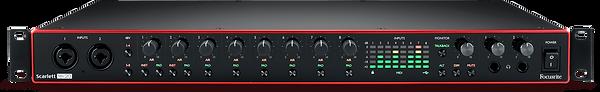 The Focusrite Scarlett 18i20 Interface