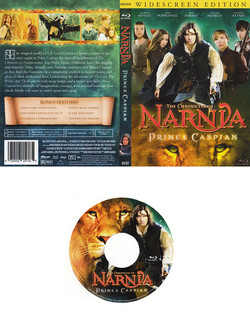 Narnia DVD Sleeve and CD