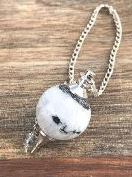 Howlite - Pendulum Sphere