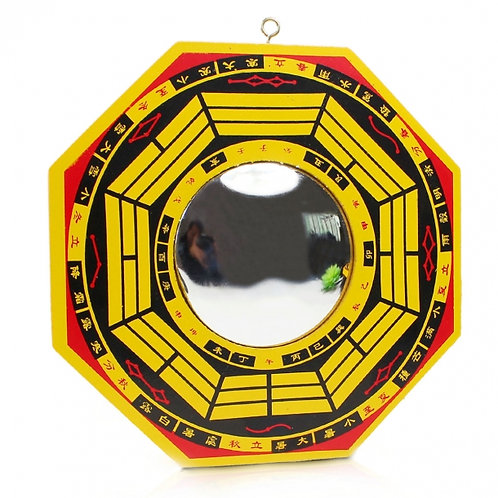 Convex  Mirror  Yellow