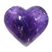 Amethyst  Puffy Heart