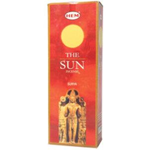 Sun   Incense Hexagon - Box of 60 Sticks